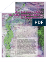 GIS in Hydrology 2004
