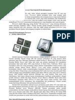 Sejarah Microprosesor