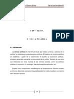Capitulo IV Ciencia Politica