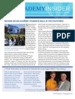 Spring 2011 Newsletter