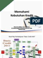 Memahami Kebutuhan Kredit Debitur