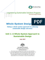ESSP WSDS - Unit 1 Whole System Approach to Sustainable Design-1
