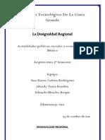 Desigualdad Regional