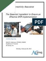 2012 White Paper - Ensure Connectivity