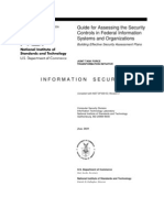 Guidelines for Assessing Security Controls