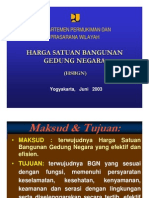 20030600 Harga Satuan Bangunan Gedung Negara