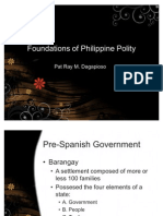 Foundations of Philippine Polity