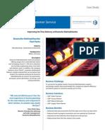 Deutsche-Edelstahlwerke on-Time Delivery Casestudy (2)