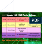 December 2008 CCNAPI Training update