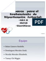 ARA II, IECAS & Diuréticos