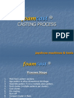 Foamcast Lost Foam Casting Process
