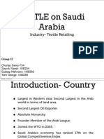 Pestle analysis on Saudi Arabia