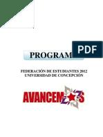 AVANCEMOS+PROGRAMA+FEDERATIVO+2012