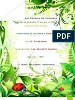 Paisajismo y La Clasificación de las plantas