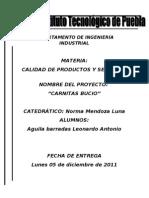 PROYECTO de carnitas