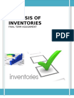 Analysis of Inventories