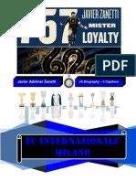 Biography Javier Adelmar Zanetti (Internazionale Captain)
