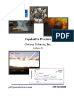 General Sciences, Inc- Capabilities Brochure