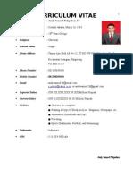 Newest Andy Samuel's CV