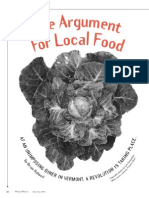 The Argument for Local Food