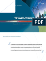 Master of Business in Energy Systems