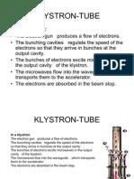 Klystron Tube