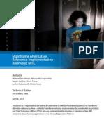 Microsoft Mainframe Alternative Reference Implementation Technical Whitepaper