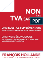 Non à la TVA Sarkozy