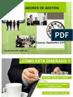 curso taller indicadores de gestión
