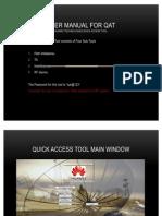 User Manual for QAT