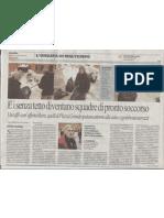 Articolo su Repubblica Bologna