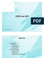 Eigrp and Ospf
