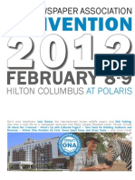 Ohio Convention Program 2012