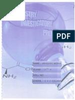 Chemistry 12th Cbse Investigatory Project