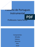 Trabalho de Portugues Instrumental