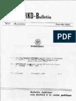 Revolutionäre Kommunisten Deutschlands - Bulletin VI/2 (März-April 1946)