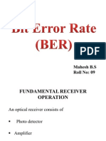 Bit Error Rate (BER)