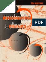 Trasformation Des Aliments - Copie
