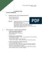 Tematica Si Bibliografia - URB 2011-2012