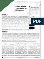 O Revisor de Texto no Jornal Impresso Diário e seu Papel na Sociedade de Informação