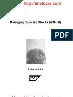 managingspecialstocks-110704032906-phpapp01