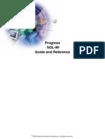 Progress SQL 89