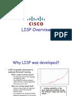 Cisco Lisp Overview