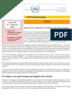 OTP Weekly Briefing 25-31 January 2012 #110