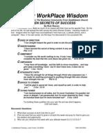 Seven Secrets of Success