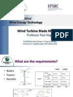 Wind Turbine Blade Materials