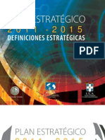 Plan Estratégico 2011-2015
