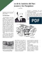 Los Araucanos y Los Fueguinos