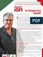 Lettre des candidatures - 8 ème Circonscription de la Seine-Saint-Denis