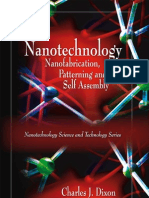 Nanotechnology Nano Fabrication Patterning and Self Assembly